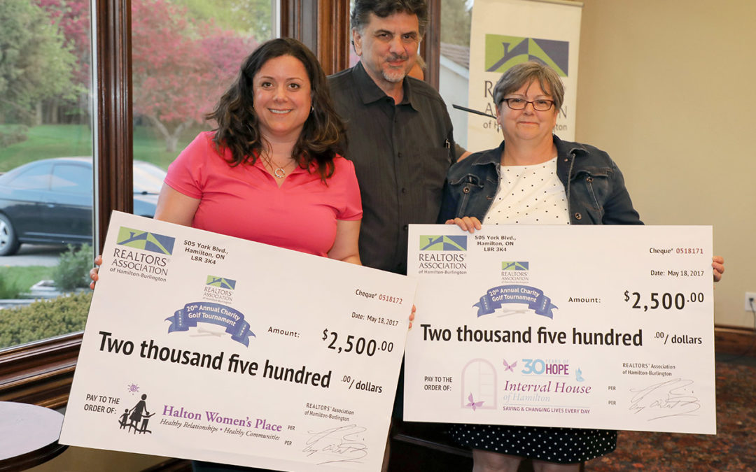 Women's Shelters Win Big in Charity Golf Tournament