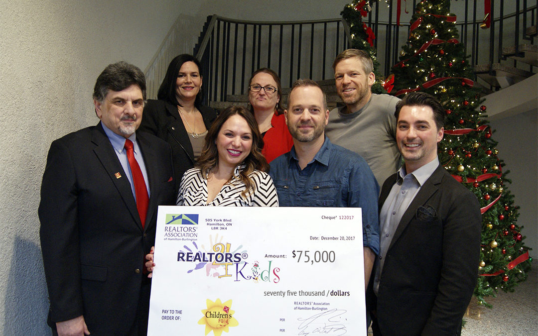 REALTORS® Raise $75,000 for the Children's Fund