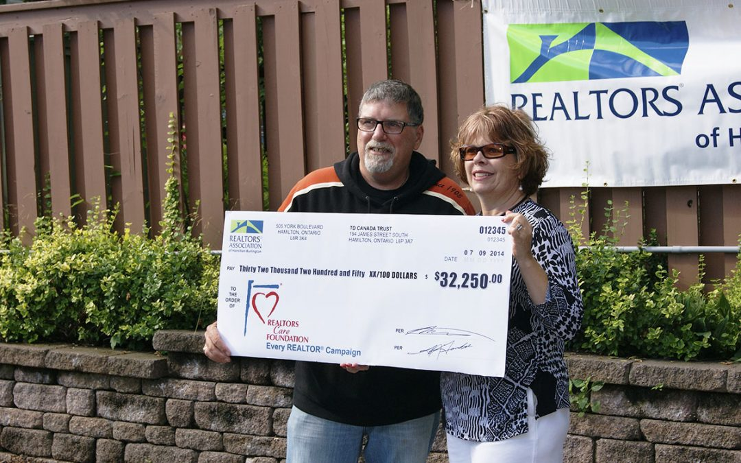 Local REALTORS® donate $32,000 to REALTORS Care® Foundation