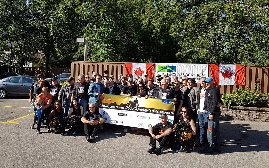 REALTOR® Motorcycle Ride Raises $28,000 for Shelter